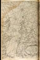 Pascaarte van het canal tusschen vranckrijck en Engelant van west zyde van Schotlant als mede van Yerlandt Nieulyckx beschreuen door Jacob Aertsz Colom [2 of 2]