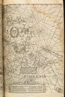 Pascaarte van het canal tusschen vranckrijck en Engelant van west zyde van Schotlant als mede van Yerlandt Nieulyckx beschreuen door Jacob Aertsz Colom [1 of 2]