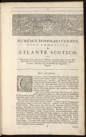 Nuncius Scoto-Britannus, sive admonitio de Atlante Scotico [03 of 18]