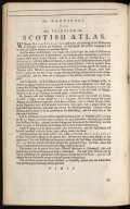 An account of the Scottish atlas or the description of Scotland ancient and modern. [13 of 13]