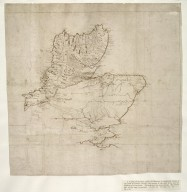 [A map of Scotland, north of Glenmore in detail, and an outline of the east coast to Dunbar, [1 of 1]