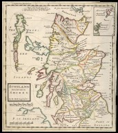 Scotland Divided into its Shires. [1 of 1]