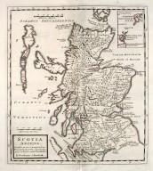 Scotia Antiqua. Qualis priscis temporibus Romanis praesertim, cognita suit quam in lucem eruere conabatur. [1 of 1]