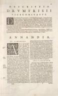 ANNANDIAE Praefectura, Vulgo THE STEWARTRIE of ANNANDAIL. [1 of 3]