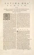 EXTIMA SCOTIAE SEPTENTRIONALIS ORA, ubi Provinciae sunt ROSSIA, SVTHERLANDIA, CATHNESIA, STRATH-NAVERNIAE, [1 of 3]