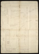 [Sketch plan of land at Duffus Moss and Spindle Muir, showing names of proprietors] [1 of 1]