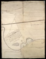1st. Map of Brunston Marches 26 April 1717 [1 of 2]