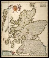 Scotia Regnum divisum in Partem Septentrionalem et Meridionalem [1 of 1]