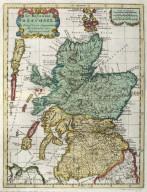 Le Royaume d'Escosse divisée en ses parties Meridionale et Septentrionale. [1 of 1]