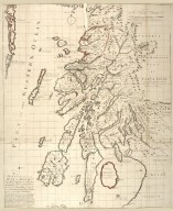 A map of such part of his Grace the Duke of Argyle's heritable dukedom, and justiciary territories, islands, superiorities & jurisdictions as lye contiguous upon the western Coast of North Britain, [1 of 1]