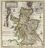 A new and correct map of Scotland & the Isles containing all ye cities, market towns, boroughs, &c. [1 of 1]