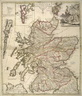 A new map of Scotland According to Gordon of Straloch / Revis'd & Improv'd by I. Senex. 1721. [1 of 1]