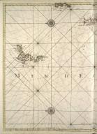 Carte de la Mer d'Ecosse contenant les isles et costes septrentrionales et occidentales d'Ecosse et les costes septentrionales d' Irlande. [2 of 2]