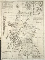 A New Map of North Britain with the Islands thereunto belonging [1 of 1]