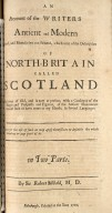 A collection of several treatises in folio, : concerning Scotland, as it was of old, and also in later times. [09 of 21]
