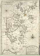 Map of The Islands of Orkney [1 of 1]