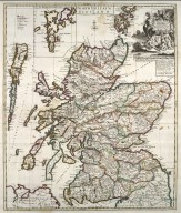 A New Mapp of Scotland, the Western, Orkney and Shetland Islands. [1 of 1]