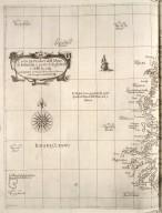 Carta particolare dell Mare di Ierlandia, é parte di Inghilterra, é della Iscotia ... : La longitudine comincia da l'Isola di Picho d'Asores di Europa Carta XXVIII [1 of 2]