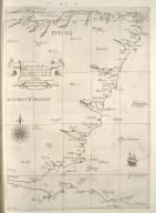 Carte particolare della costa di Scozia : che comincia con il ci. di S. Tabs è Finisce con il c.d' Comar. La longitudine comincia da l'Iisola di Picho d'Asores di Europa Carta XXXIIII [1 of 1]