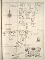 Carte particolare della costa di Scozia : che comincia con il C: di Cromare è finisce con l'isole di Orcades. La longitudine comincia da l'isola di Picho d'Asores di Europa Carta XXXV [1 of 1]