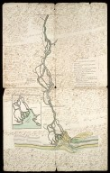 [Diagram of the River Spey from Bihaggardes Gevin to Pottie-burn]. [1 of 2]