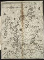 Vraye & exacte description Hydrographique des costes maritimes d'Escosse & des Isles Orchades Hebrides avec partie d'Angleterre & d'Irlande servant a la naiguation [1 of 1]