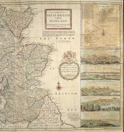 The north part of Great Britain called Scotland : with considerable inprovements [sic] and many remarks not extant in any map. [1 of 2]