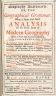 Geography Anatomiz'd, or, The Geographical Grammar [...] [1 of 1]