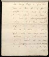 [Commission by Queen Anne to John Adair and others to appoint the town of Borrowstounness (Bo'ness) to be a port and to fix the bounds thereof] [26 of 39]