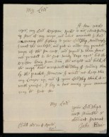 [Letter from John Adair, Edinburgh, to the Earl of Mar regarding Mar's request for Adair's maps] [1 of 2]