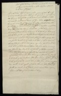 Note of the bounding of the Sixty aikers of the miur of Dysart contained in Collonell St Clairs Charter to the Town of Dysart [1 of 2]