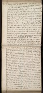 [Diary entry of George Home of Kinnerghame, 28 January 1698 recording a visit to John Adair] [2 of 2]