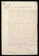 [Letter from James Gordon, Strathloch, to the Duke of Hamilton, 25 May 1647, [1 of 2]