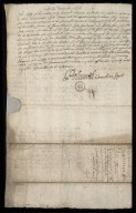 Petition for John Adair Geographer [concerning payment of £4,544 Scots out of the tonnage] [2 of 2]