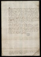 [Report of the Privy Council] appointed to examine the progress made by John Adair in the Maps of Scotland [1 of 2]