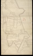 [Stirling Castle, with plans to fortify the main entrance and the nether bailey] [2 of 2]