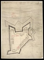 Plan of Fort William at Inverlochy in its present condition Augst. 1709. [1 of 1]