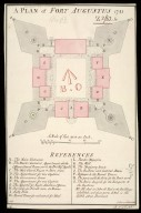 A Plan of Fort Augustus 1741 [copy]. [1 of 1]