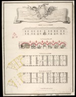 The Governours, Deputy Governour's, Fort Major's & storekeeper's houses : marked nos. 1 & 2 on the general plan [proposed Fort George on Oliver's Fort site, Inverness] [1746] [1 of 1]