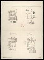 Killewhiman [i.e. Kiliwhimen], Inversnait [i.e. Inversnaid], Ruthven of Badenoch, Bernera [draft] [1 of 1]