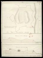 Plan of Fort Charlotte in March 1781 No. 1 : section from A to B in March 1781; section from A to B January 1783 [1 of 1]