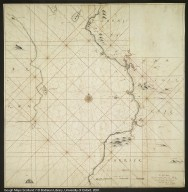 The SEA Mappe of the outward part of Clyde betwixt Elsa & the Garroch head in Bute containing the Bayes of Aire & Irvine with ye East coast of Arran [1 of 1]