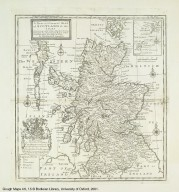 A New and Correct MAP of SCOTLAND & the ISLES [1 of 1]