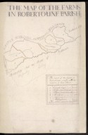 The Map of the Farms in Robertoune Parish [1 of 2]