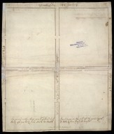 [Plan of four unidentified enclosures] [1 of 2]