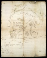 View by way of plan, of the roads from Inverness to Muirtown, 1743 [1 of 2]