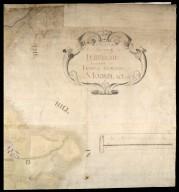 Plan of Estate Terpersie Belonging to James Gordon of Moorplace [2 of 4]