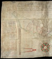 A Map of the Lands & estate of Blainearn; Each Particulare Parte Being Surveyed Separte by it selfe [1 of 2]