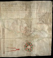 A Map of the Lands & estate of Blainearn; Each Particulare Parte Being Surveyed Separte by it selfe [2 of 2]