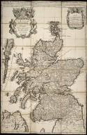 ROYAUME D'ESCOSSE Divisé en Parties Septentrionale & Meridionale ; Subdivisés en Provinces, Comtez &c. Presenté A MONSEIGNEUR LE DAUPHIN, par le Sr. SANSON, Geographe du ROY [1 of 1]